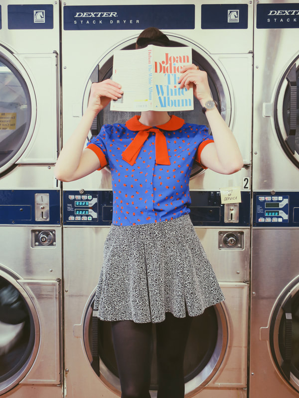 laundromat photoshoot | laundromat | retro style | Lindy Bop | the white album