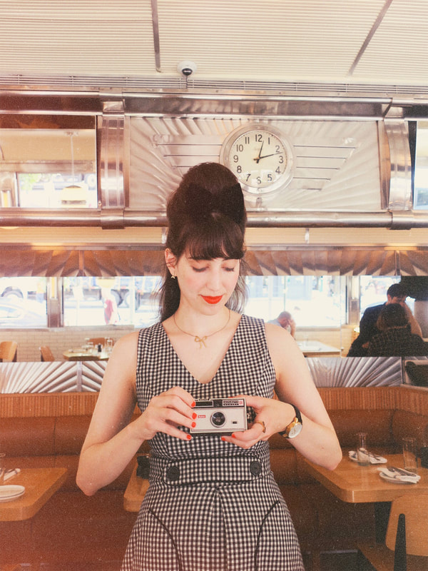 smak parlour | retro style | vintage style | gingham dress