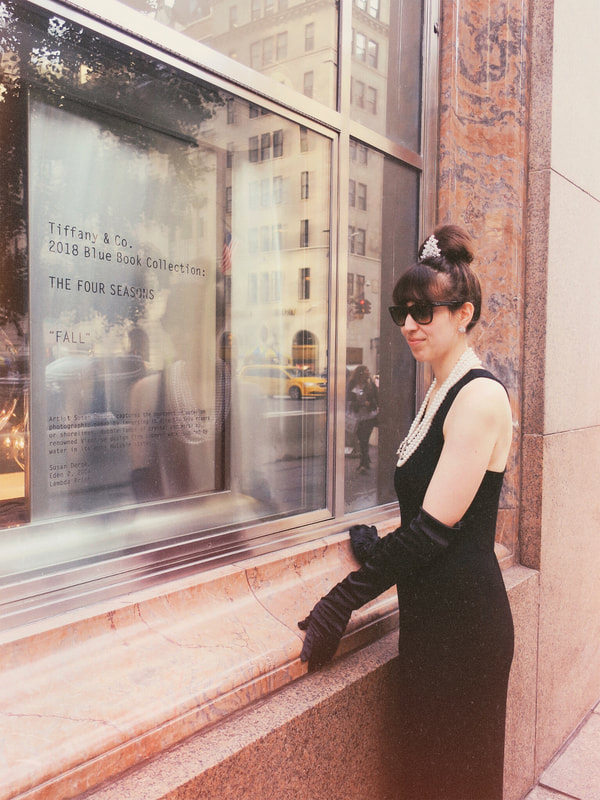 Audrey Hepburn | Holly Golightly | Breakfast At Tiffany's | Tiffany & Co | Audrey Hepburn Costume | Holly Golightly Costume